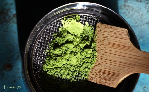 Sieve to break up clumps